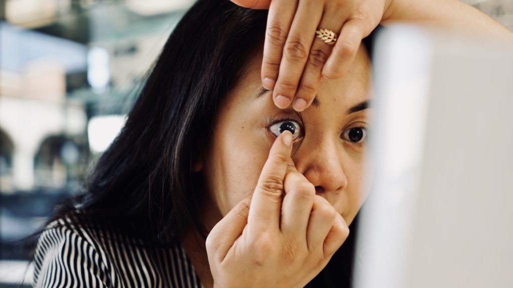 contact lenses with vision insurance